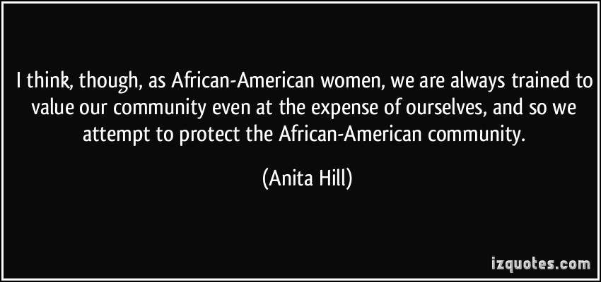 African-American Community quote