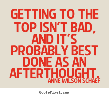 Afterthought quote #2