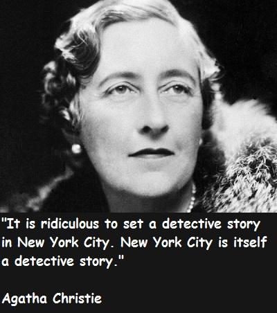 Agatha Christie's quote #7