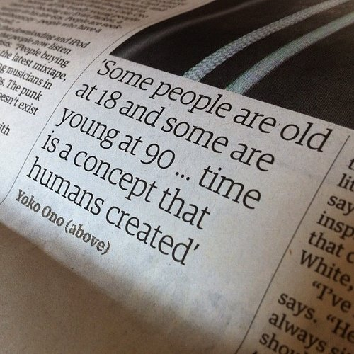 Aged quote #1