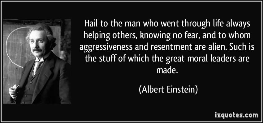 Aggressiveness quote #1