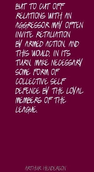 Aggressor quote #1