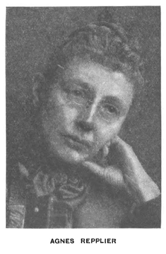 Agnes Repplier's quote #1