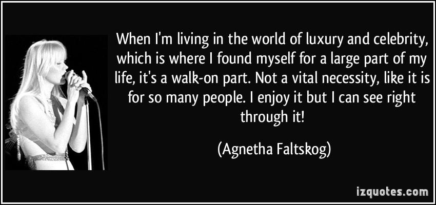 Agnetha Faltskog's quote #5