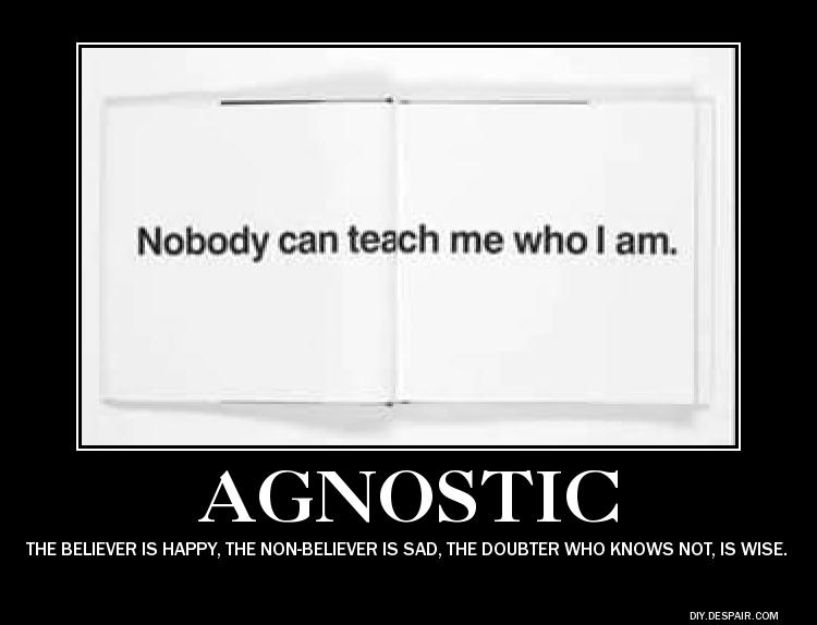 Agnostic quote #1