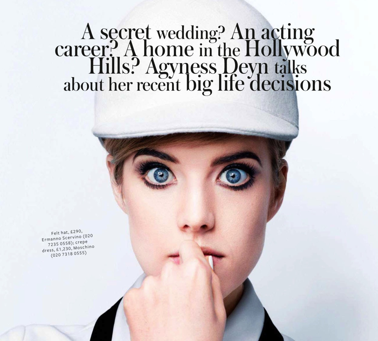 Agyness Deyn's quote #2