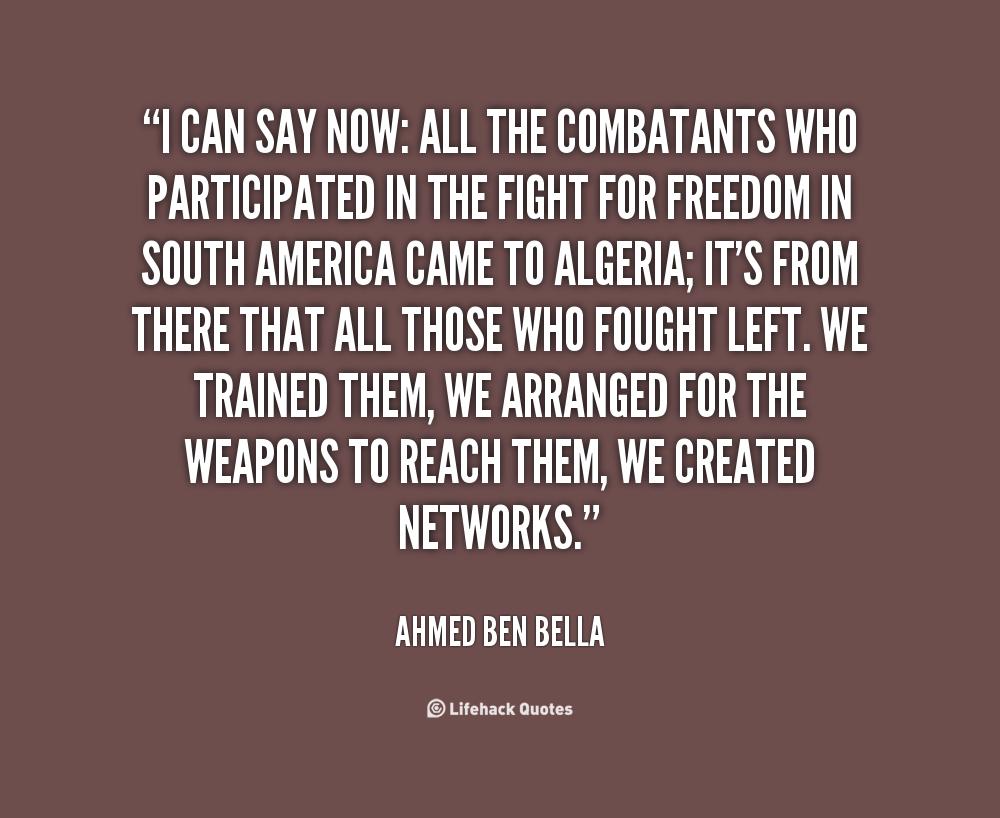 Ahmed Ben Bella's quote #6