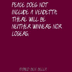 Ahmed Ben Bella's quote