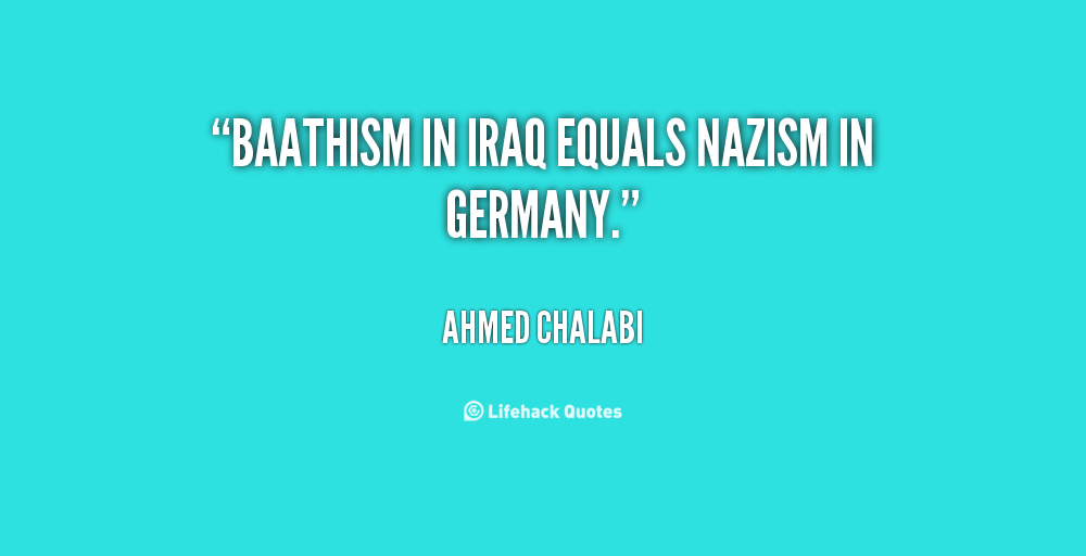 Ahmed Chalabi's quote #4