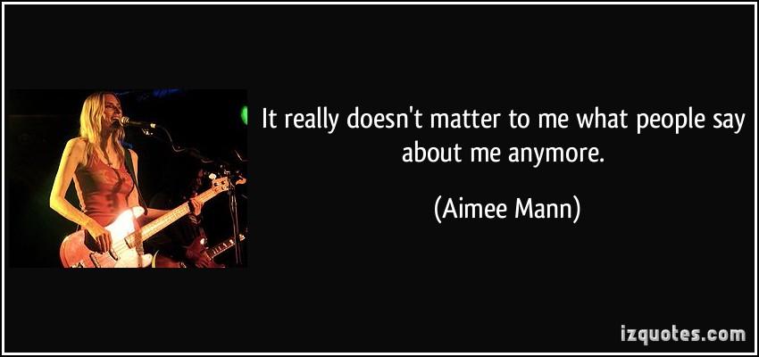 Aimee Mann's quote #5