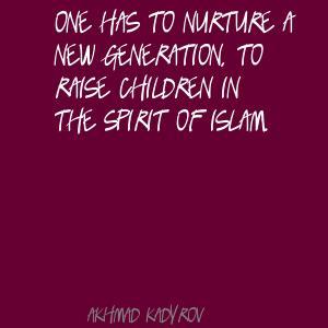 Akhmad Kadyrov's quote #5
