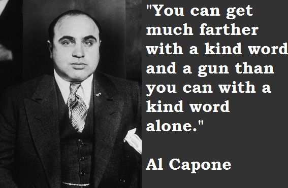 Al Capone quote #2