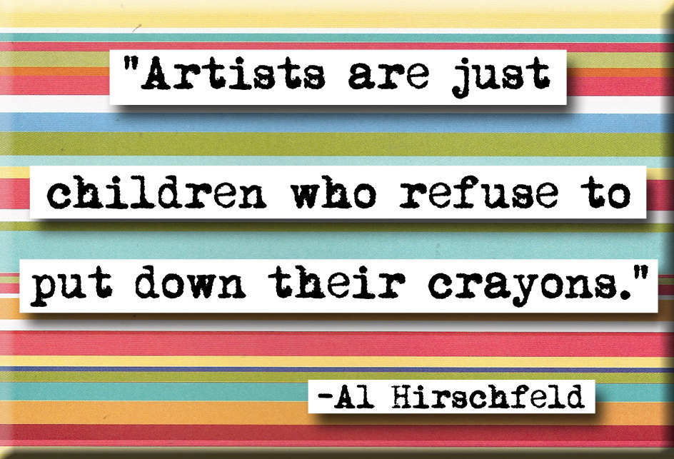 Al Hirschfeld's quote #1