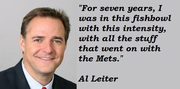 Al Leiter's quote #3