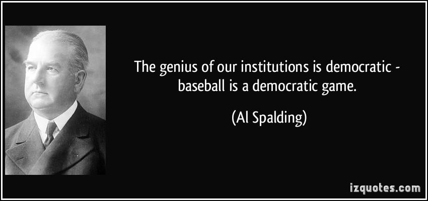 Al Spalding's quote #1