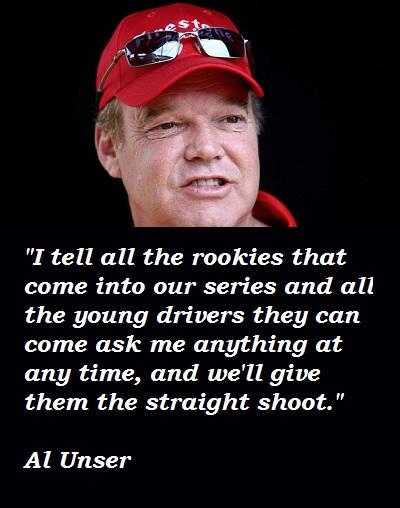 Al Unser's quote #2