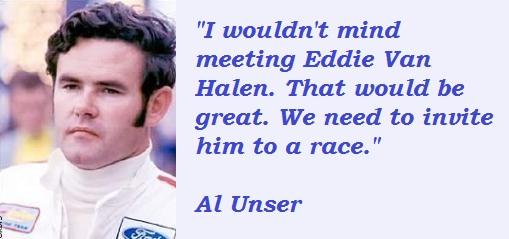 Al Unser's quote #3