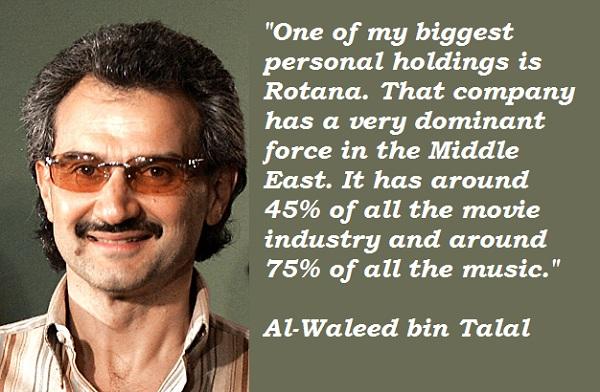 Al-Waleed bin Talal's quote #6