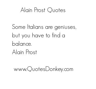 Alain Prost's quote #7