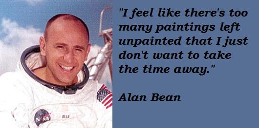 Alan Bean's quote #6