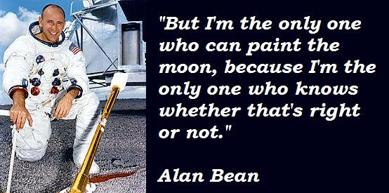 Alan Bean's quote #5