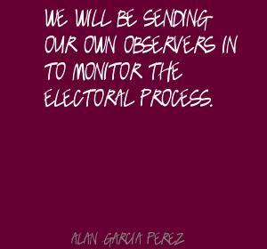Alan Garcia Perez's quote #4