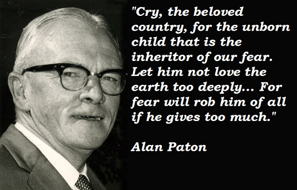 Alan Paton's quote #2