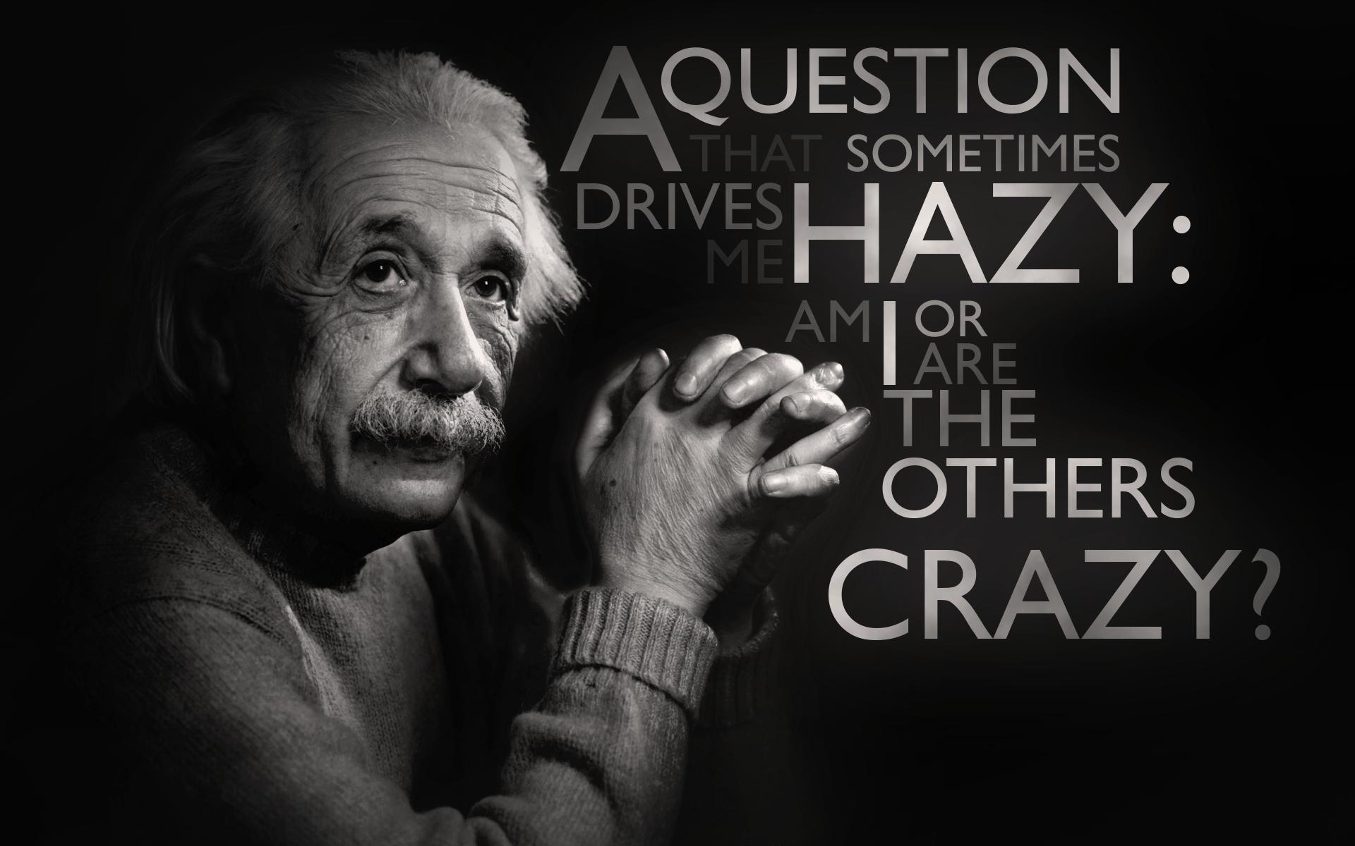 Albert Einstein quote #1