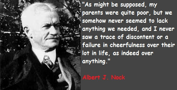 Albert J. Nock's quote #2