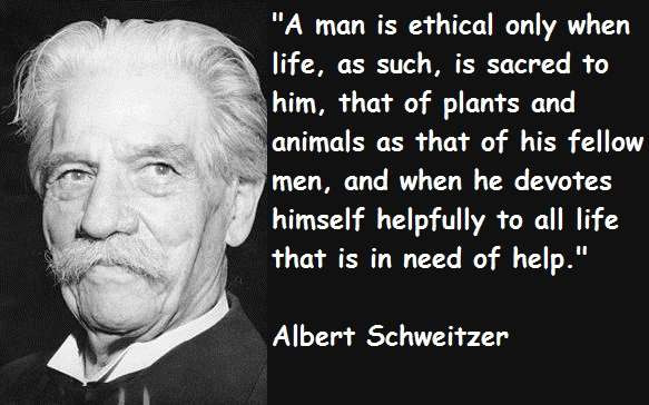 Albert Schweitzer's quote #5