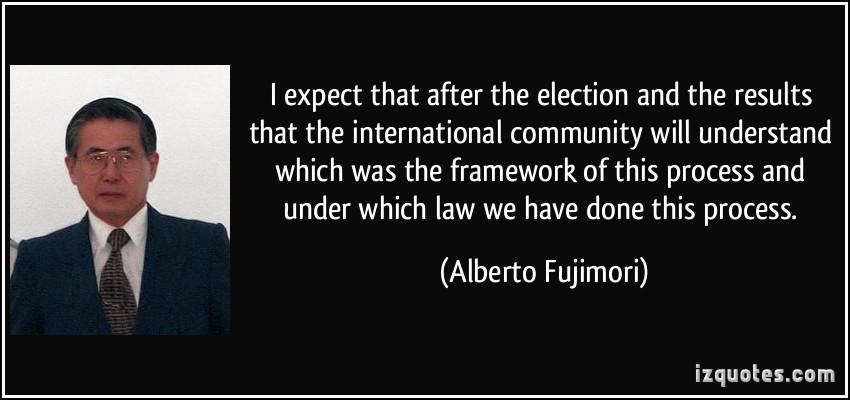Alberto Fujimori's quote #7