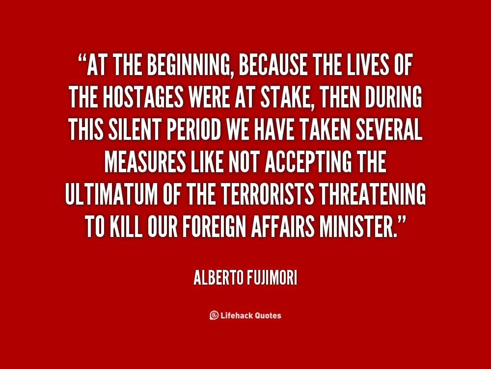 Alberto Fujimori's quote #1