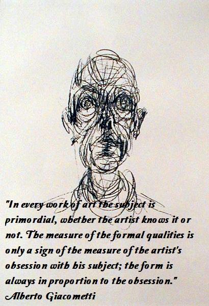 Alberto Giacometti's quote #8