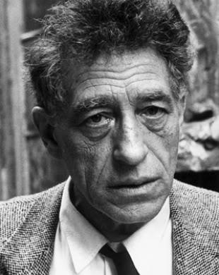 Alberto Giacometti's quote