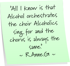 Alcoholic quote #1