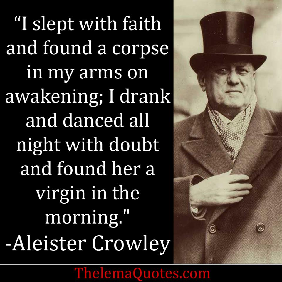 Aleister Crowley's quote #2