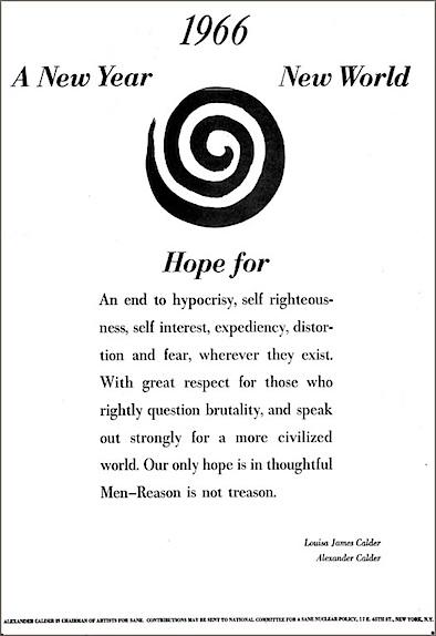 Alexander Calder's quote