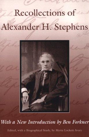 Alexander Hamilton Stephens's quote #1