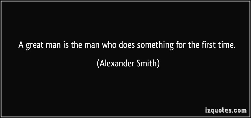 Alexander Smith's quote #2
