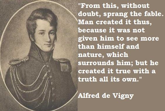Alfred de Vigny's quote #5
