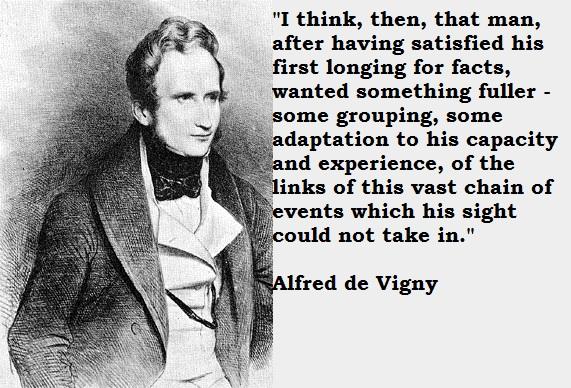 Alfred de Vigny's quote #1
