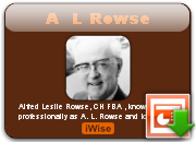 Alfred Leslie Rowse's quote #1