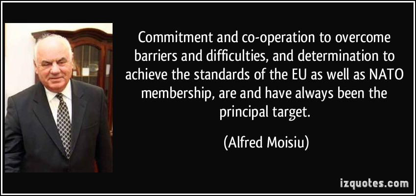 Alfred Moisiu's quote #2