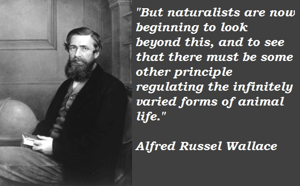 Alfred Russel Wallace's quote #1