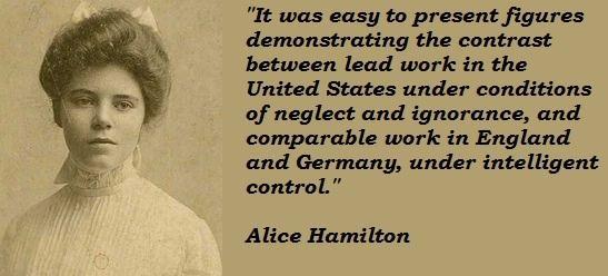 Alice Hamilton's quote #3