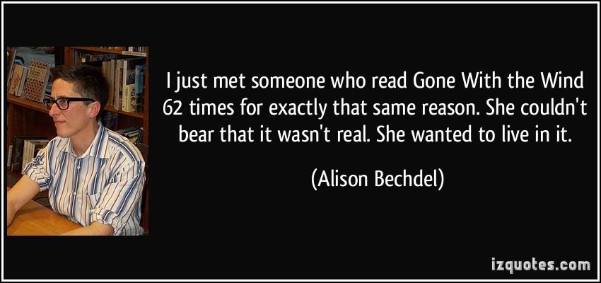 Alison Bechdel's quote #3