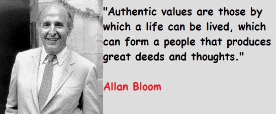 Allan Bloom's quote #7
