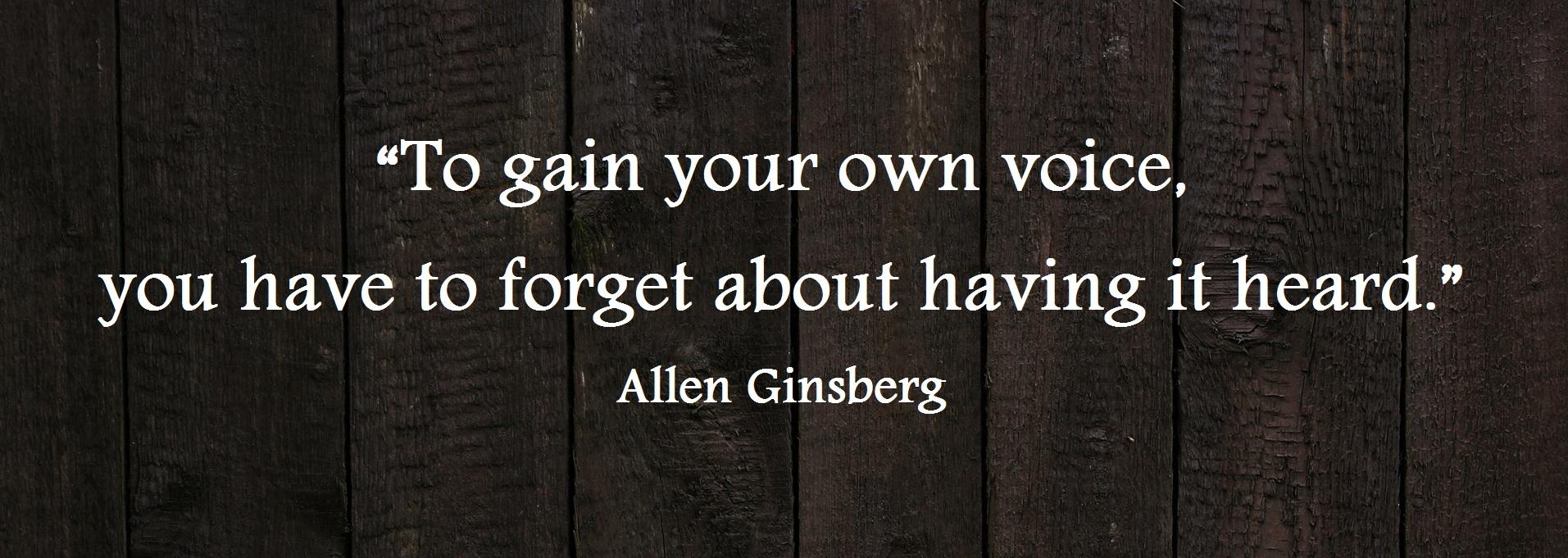 Allen Ginsberg's quote #8