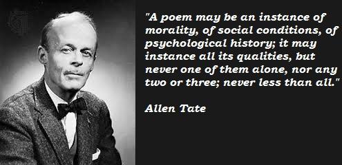 Allen Tate's quote #1