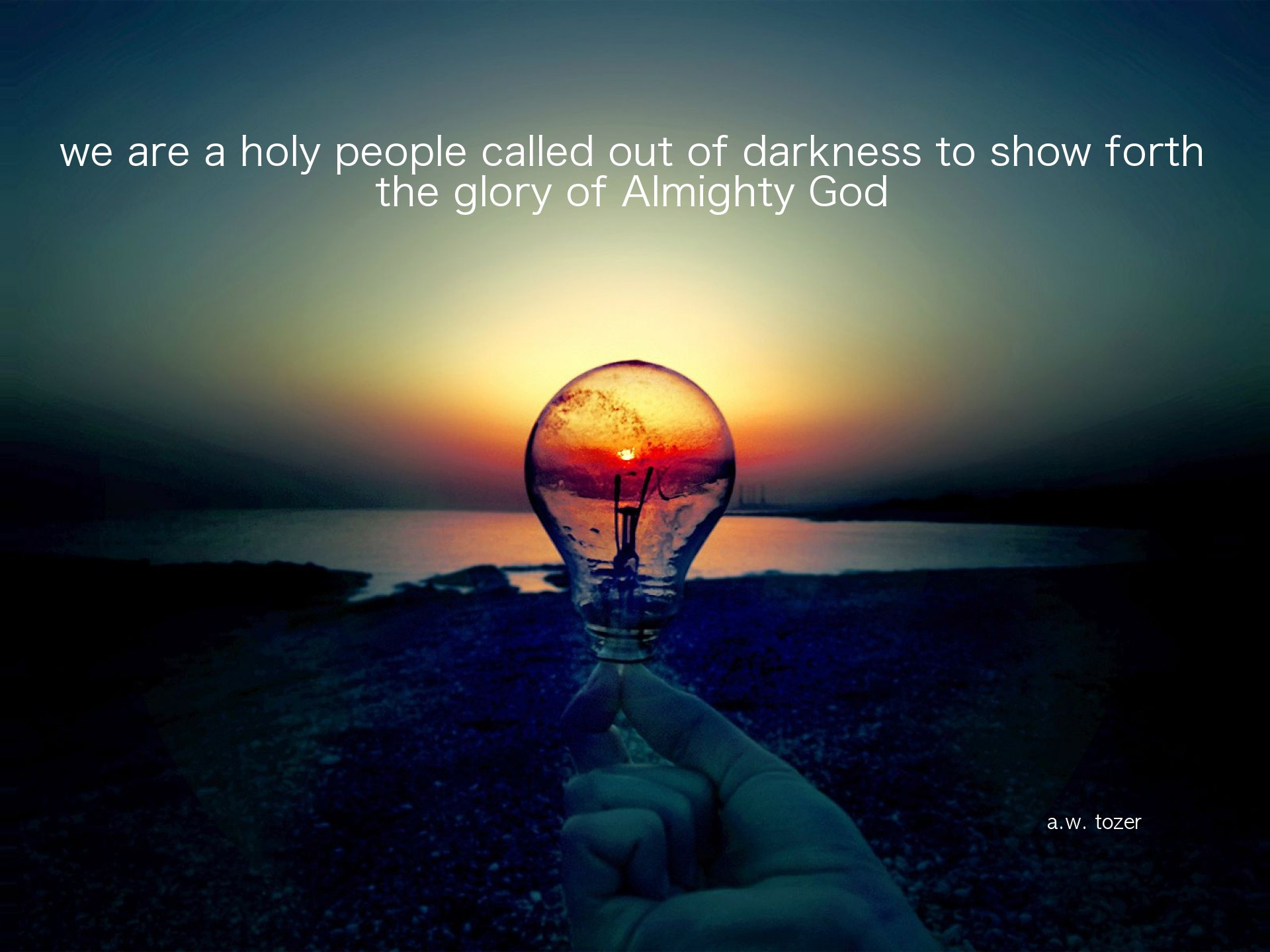 Almighty God quote #2